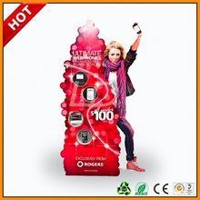 mobile accessories cardboard displays ,mobil phone charger display stand ,mobil phone accessories display rack