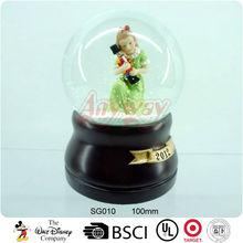 SG010 Polyresin cartoon girl water ball wholesale
