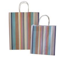 handbag shape style fold paper gift bag