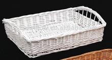fatto a mano cestino per il pane di vimini paglia cestino del pane ingrosso