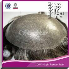 Mens toupee thin skin,human hair thin skin top lace wig,silicone toupee men