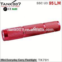 Aluminium Alloy Hand Flashlight Mini LED powerful and cheap led flashlight