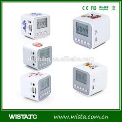 WISTA Quality mini speaker built-in FM Radio,Circle mode