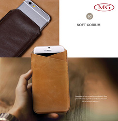 Retro leather mobile phone bag cellphone pouch for Apple iphone 4/5/6/plus, Samsung Galaxy, LG