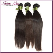 No harm 100% virgin hair mongolian style hair Nana beauty hair factory price Mongolian straight