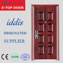 E-TOP DOOR 2014 China Alibaba TOP safety iron main door designs,doors modern homes