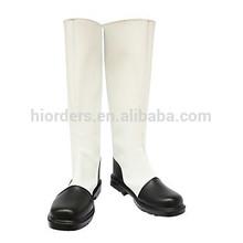 Cosplay Boots Inspired by Hetalia Hongkong White and Black