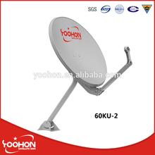 Ku Band 60cm Dish Antenna TV Receiver
