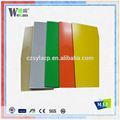 Wecan 4 x 8 painéis de teto alta pintura gloss composto de alumínio painéis de parede materiais de construção preços