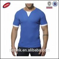 mens ribbed two color t shirt large quantity t shirt design