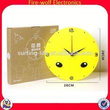 animal wall clock reverse running wall clock colorful wall clock