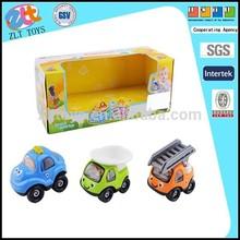 Free wheel cartoon truck toy 3pcs Cartoon Car Truck For Kids