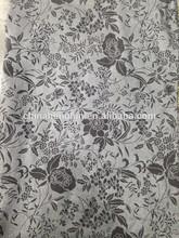45%cotton 44%polyester 11%spandex printed knit fabric with sirospun yarn