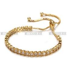 China wholesale sample bangle bracelets NSB734STGCZD