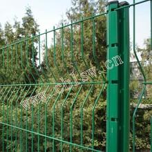 Galvanized steel prefab fence panels