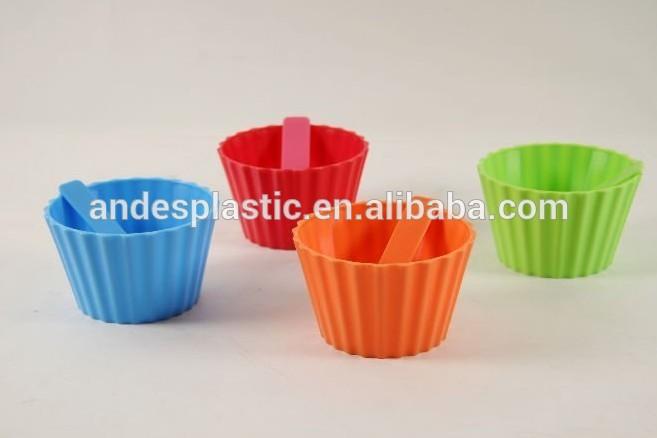 Colorful Ice Cream Bowls Colorful Plastic Ice Cream