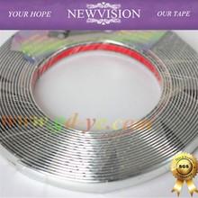 Car Chromium Styling strip/4mm*15m/Auto accessories exterior decoration silver chrome strip trim