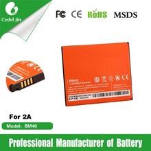 mobile phone battery BM40 for Xiaomi 2A hongmi 2030mAh 3.8V battery