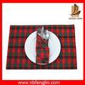 moderno mejor venta de tela de poliéster tejido manteles redondos