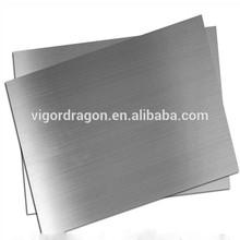 201 410 430 1219 * 2438 mm de acero inoxidable hoja intercalada
