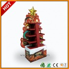 christmas hanging decoration display ,christmas greeting card 4 side cardboard ,christmas goods counter display