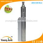 Hot selling high power stainless steel/black Zen 30W/36W/50W Mod,zen zna mod,50w mod