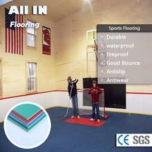 wholesale fire resistant pvc sports flooring acrylic acid standard basketball court flooring