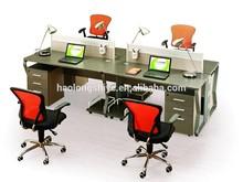 new design hot sale steel furniture desk set