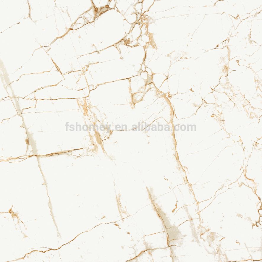 nano super witte volle gepolijst porselein geglazuurde marmeren vloer tegels voor woonkamer