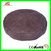 E156 Brown Stacking Footstool Sofa Bean Bag Filling