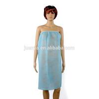 Disposable nonwoven spa wholesale bathrobe