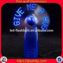 China Wholesale Gifts Crafts Mini Led Flashing Led Light With Fan