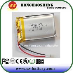 hot sale long cycle life rechargeable 7.4v 1800mah li-polymer battery