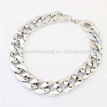 2015 Fashion Gold Plastic Chain Necklace