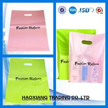 custom logo printing plastic shopper bags for supermarket