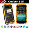newest Cruiser S15 3G/A-GPS quad core dual sim android 4.4.2 gps locator cell phone