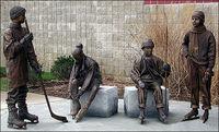 sculpture en bronze CLBS-L064R