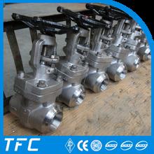 ASME B16.25 BW stainless steel butt welded gate valve