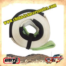Free OEM UNITY4WD custom tow strap Snatch Straps with 20% elongation