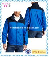 Mens 100 polyester lightweight packable waterproof rain jacket