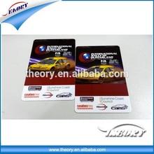 Manufacturer CR80 plastic microsoft gift card