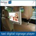 Flintstone 7 polegadas portátil carro tv lcd, bus monitor de tv com sd