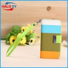 Elegant Mix Color Leather Wallet Case For Iphone 6 Case Leather Wholesale