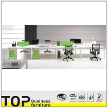 Good Quality Rectangular Desk Office MFC Workstation Cluster