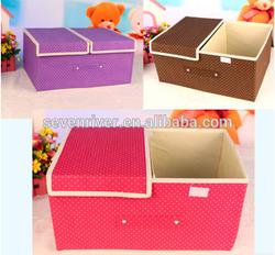 Nice folding underwear storage box for storage underwear