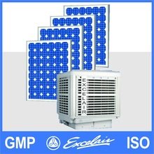 Excelair Green Power Solar Air Cooler evaporative air cooler desert air cooler