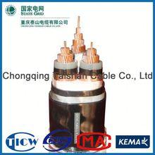 Factory Wholesale 15kv 3x240mm lv/mv/hv pvc/xlpe power cable