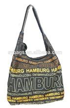 2014 hot sale eco friendly organic cotton shopping bag / plastic shopping bag / big handbag