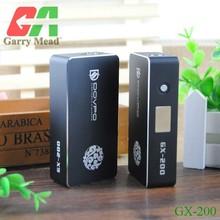 2014 New atomizer exgo suitable mod fashion bulk e cigarette purchase dovpo gx-200 box mod Copper/brass Apollo mod Skyline M6