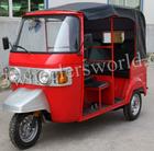 Made in China 150cc Indian bajaj style three wheel CNG auto rickshaw tuk tuk